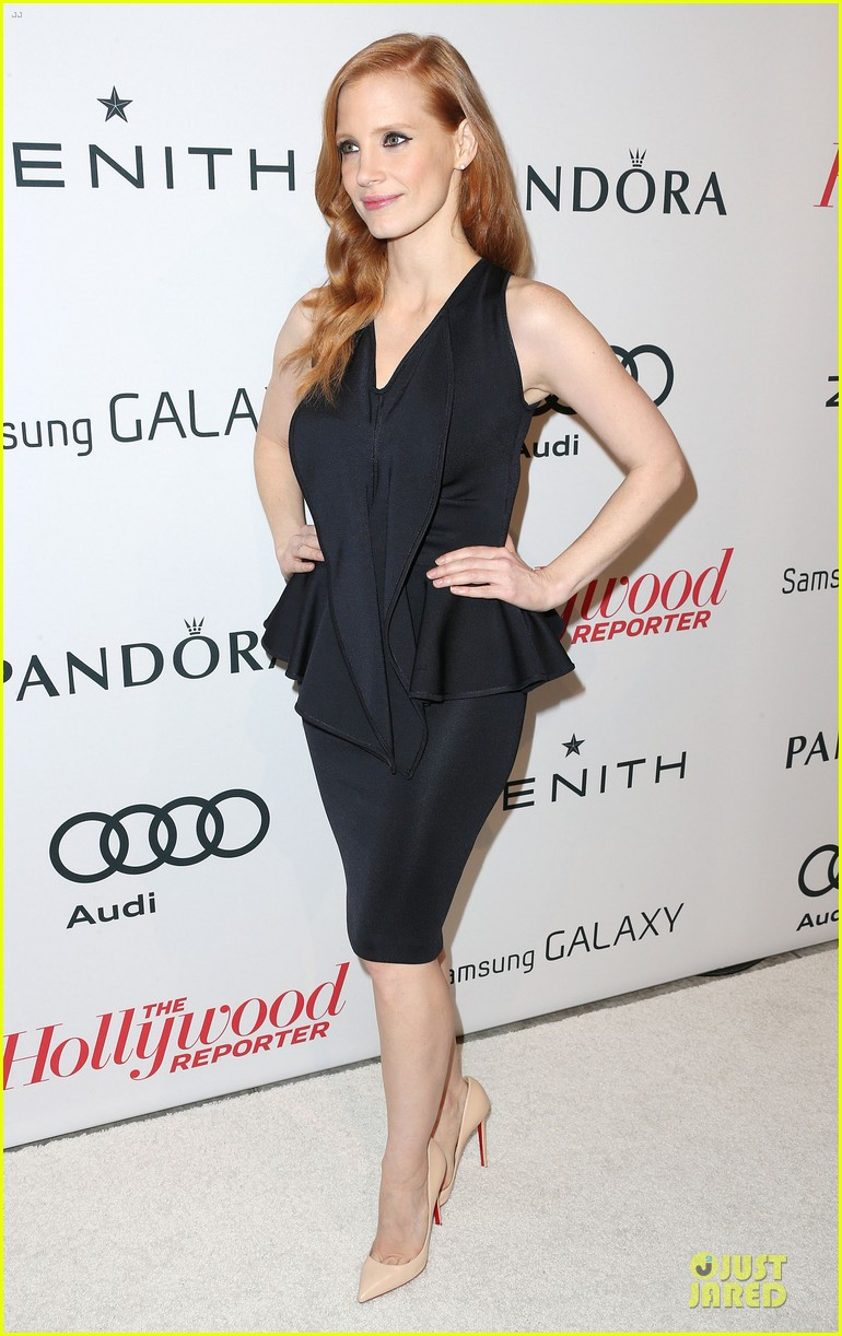 jessica chastain hugh jackman tonight show with jay leno guests 132805243
