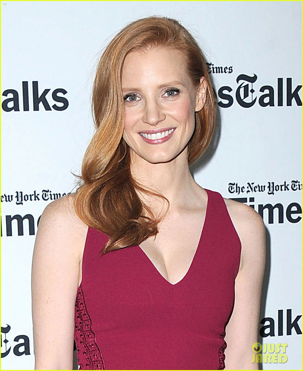 jessica chastain times talks appearance 02