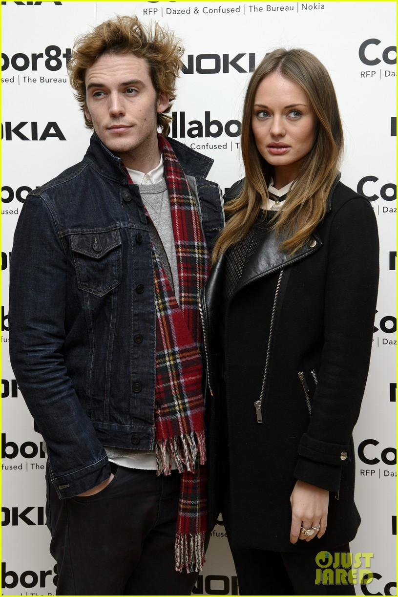 sam claflin alice eve rankin collabor8te premiere 02