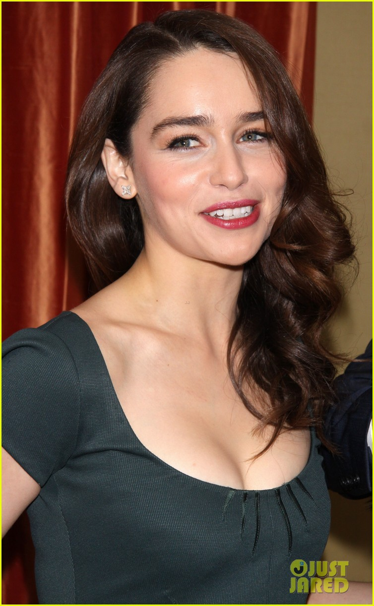 emilia clarke breakfast at tiffanys broadway press preview 042821837