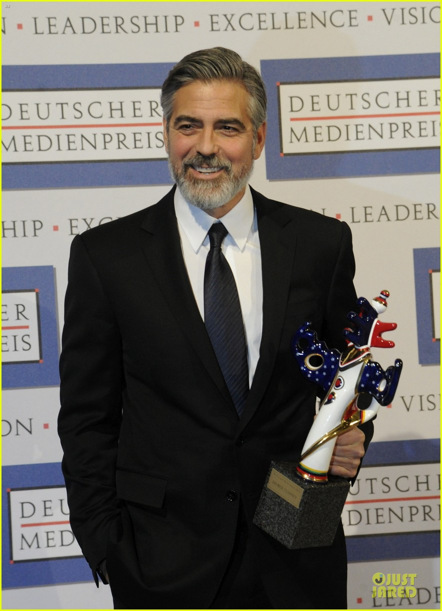 george clooney deutscher medienpreis award honoree 132821441