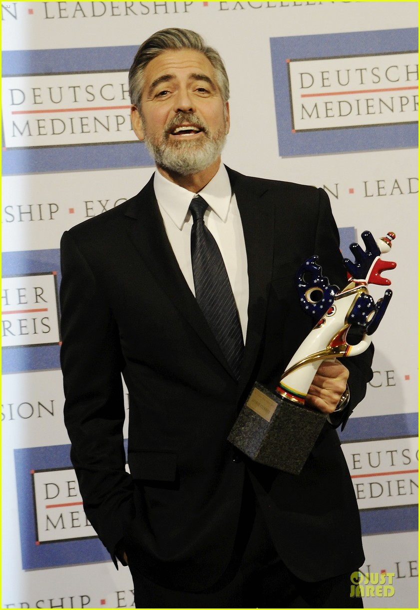 george clooney deutscher medienpreis award honoree 142821442