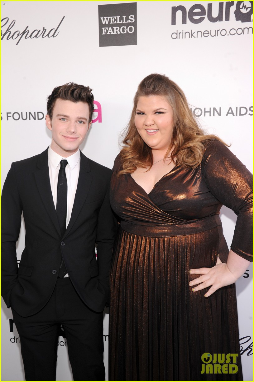 chris colfer matthew morrison elton john oscars party 2013 07