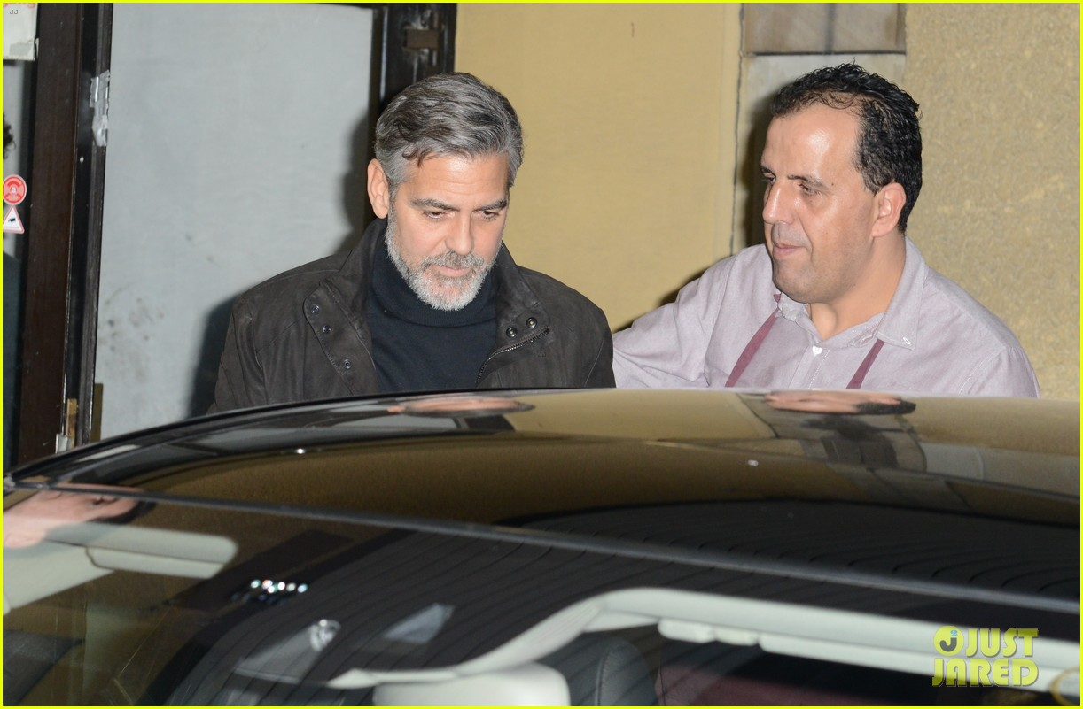 matt damon george clooney dinner duo in berlin 082806436