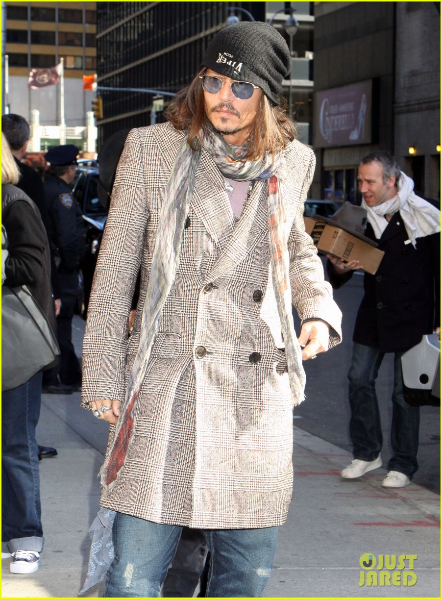 johnny depp letterman appearance as musical guest 042816642