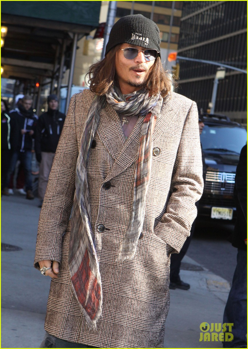 johnny depp letterman appearance as musical guest 102816648