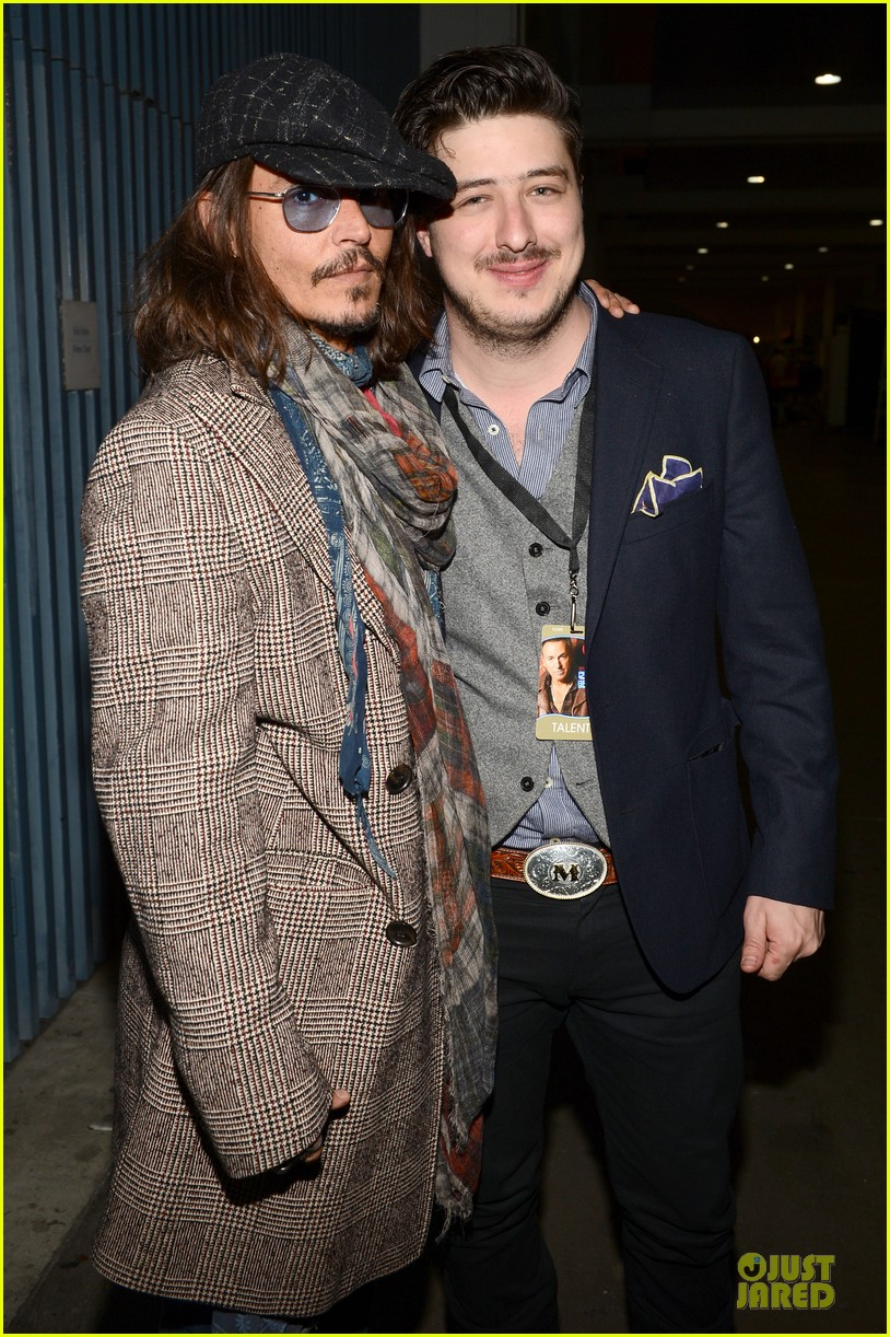 johnny depp marcus mumford grammys musicares person of the year event 01