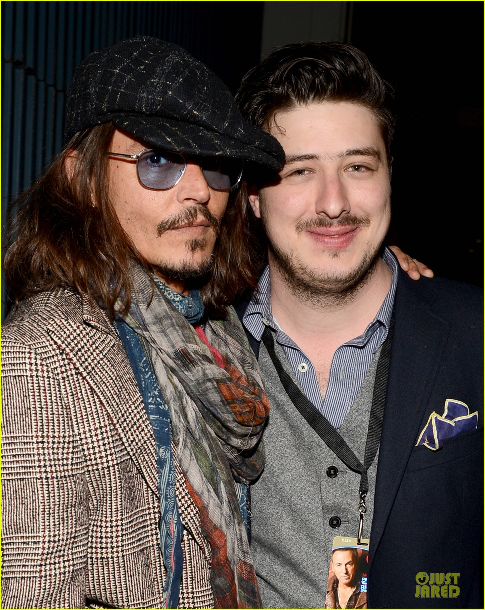 johnny depp marcus mumford grammys musicares person of the year event 02