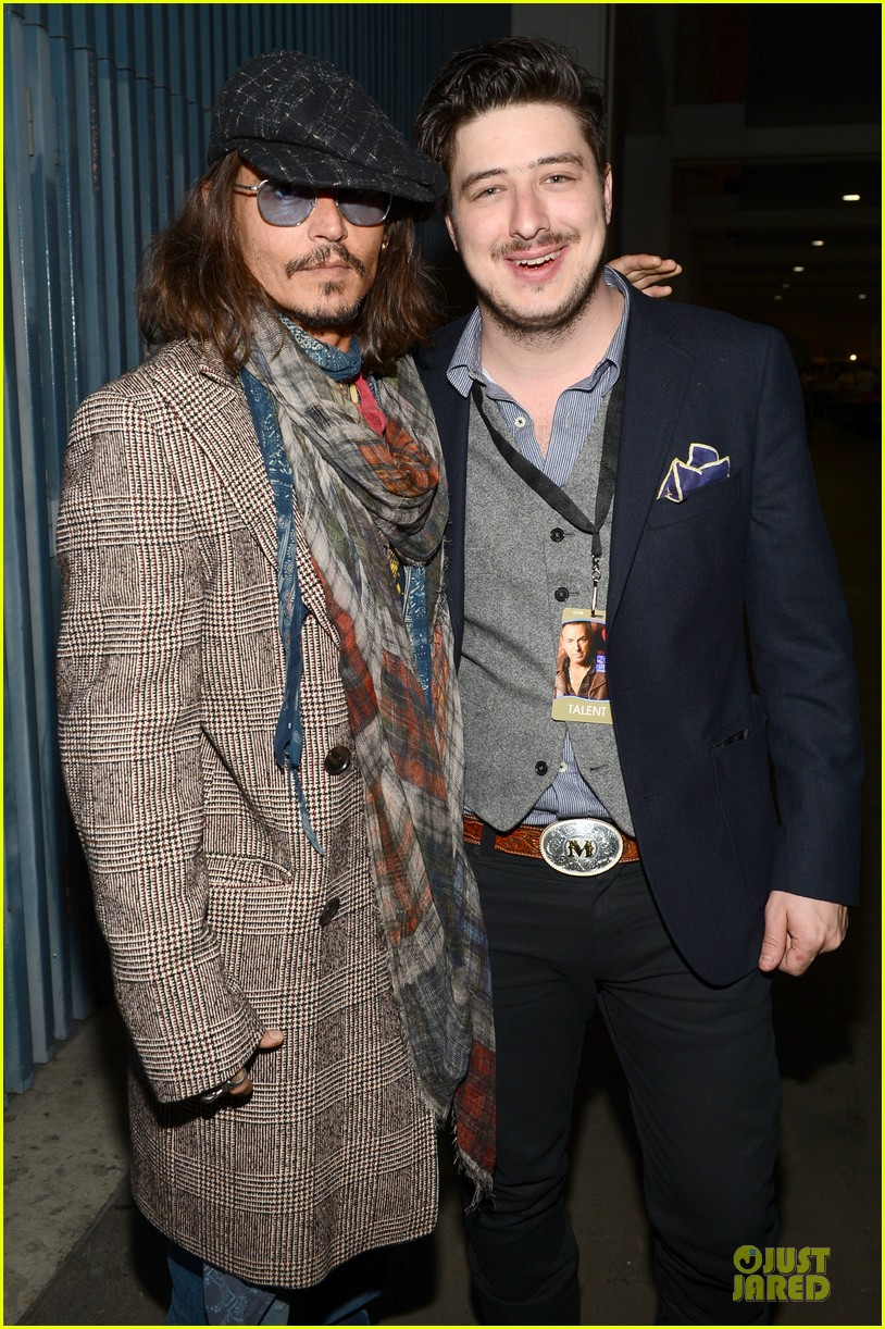 johnny depp marcus mumford grammys musicares person of the year event 03