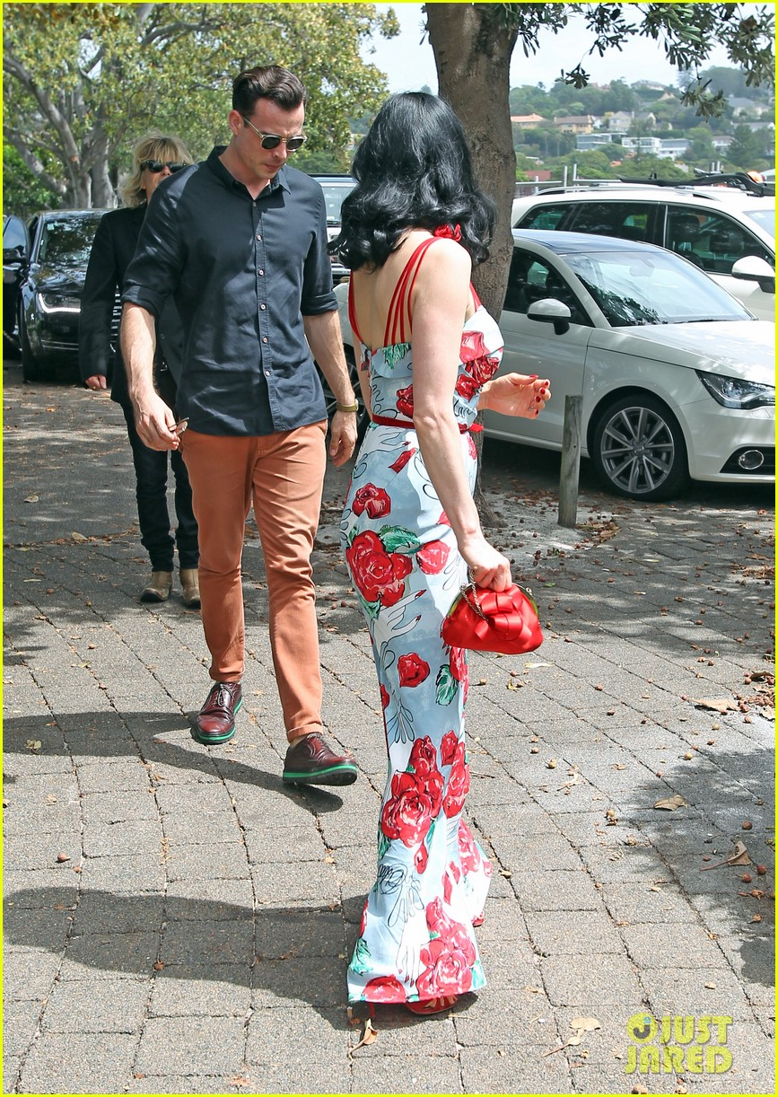 dita von teese catalina lunch with theo hutchcraft 05