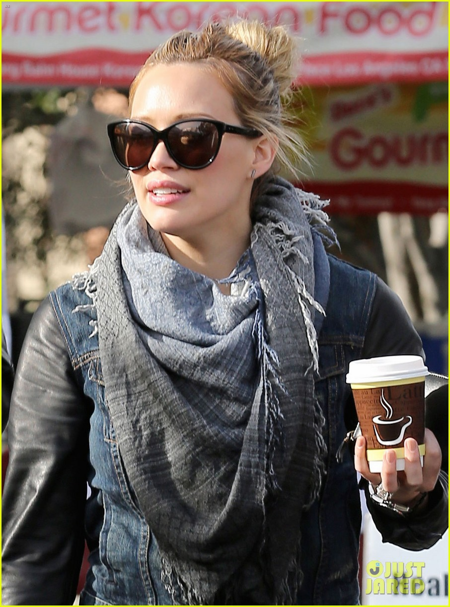 hilary duff post pilates pretty 04