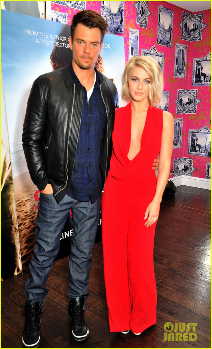 josh duhamel julianne hough safe haven photo call 10