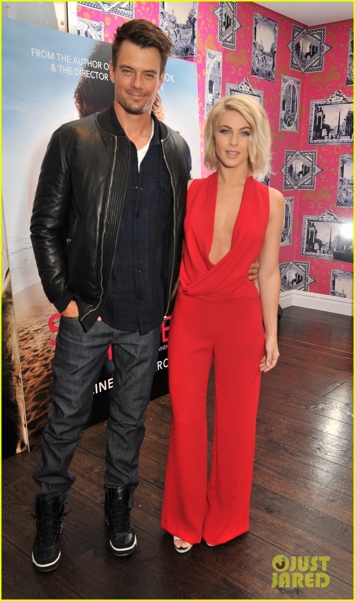 josh duhamel julianne hough safe haven photo call 11