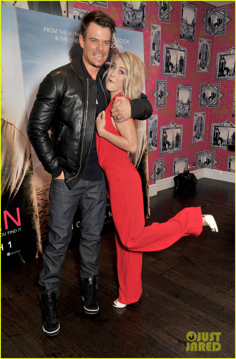josh duhamel julianne hough safe haven photo call 12