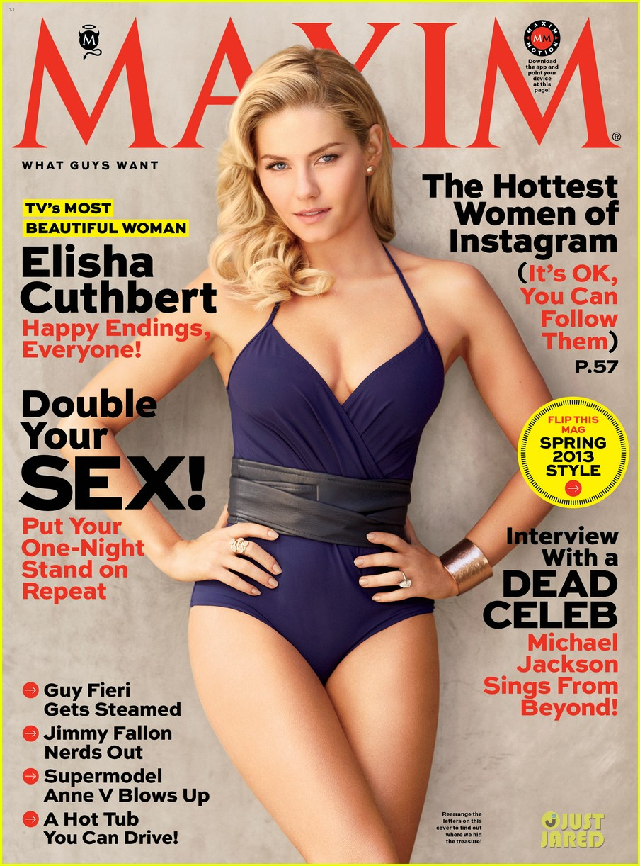 elisha cuthbert maxim tv most beautiful woman 02