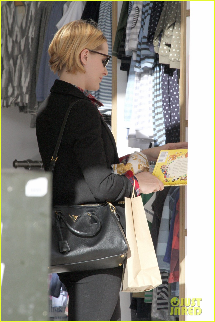evan rachel wood jamie bell baby shopping 19