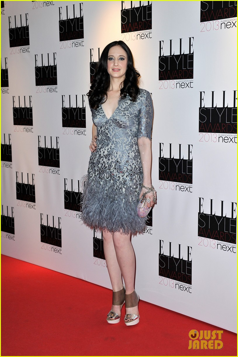 andrea riseborough alice eve elle style awards 2013 13
