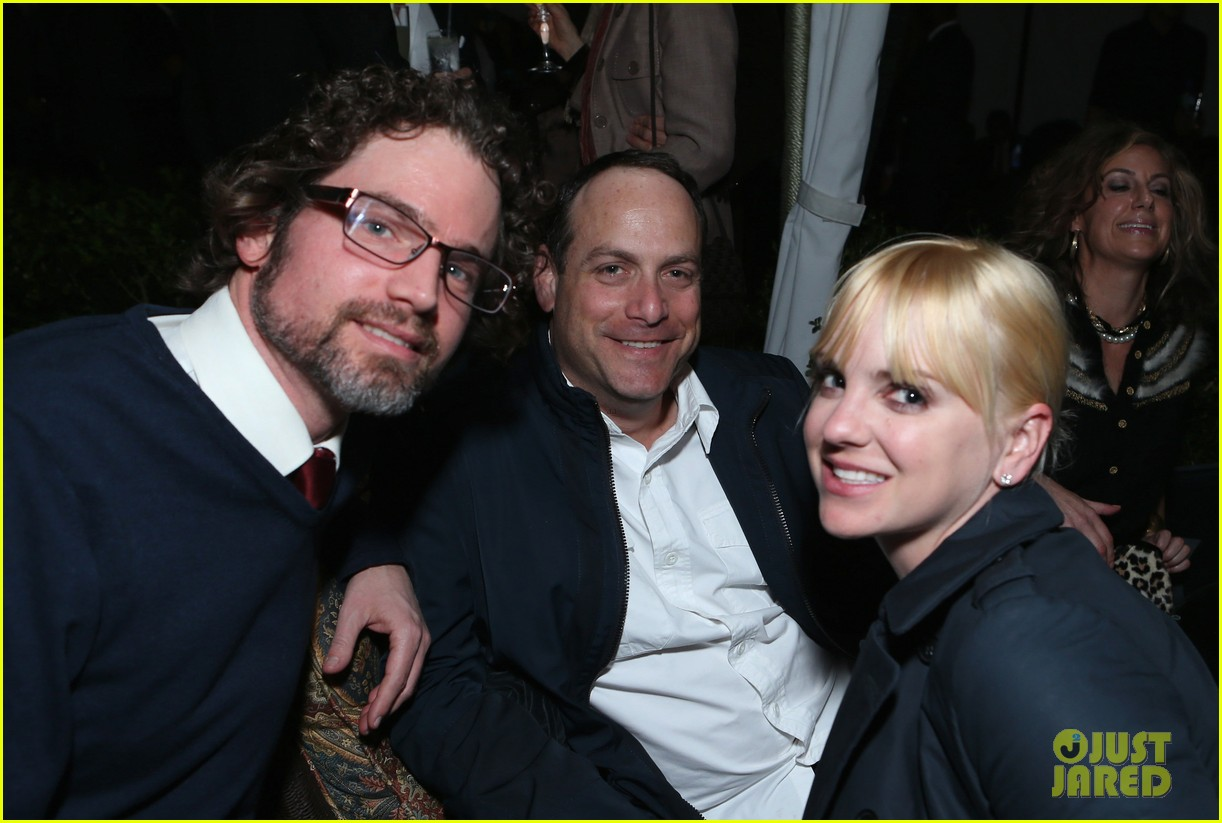 anna faris chris pratt grey goose pre oscars party 2013 02