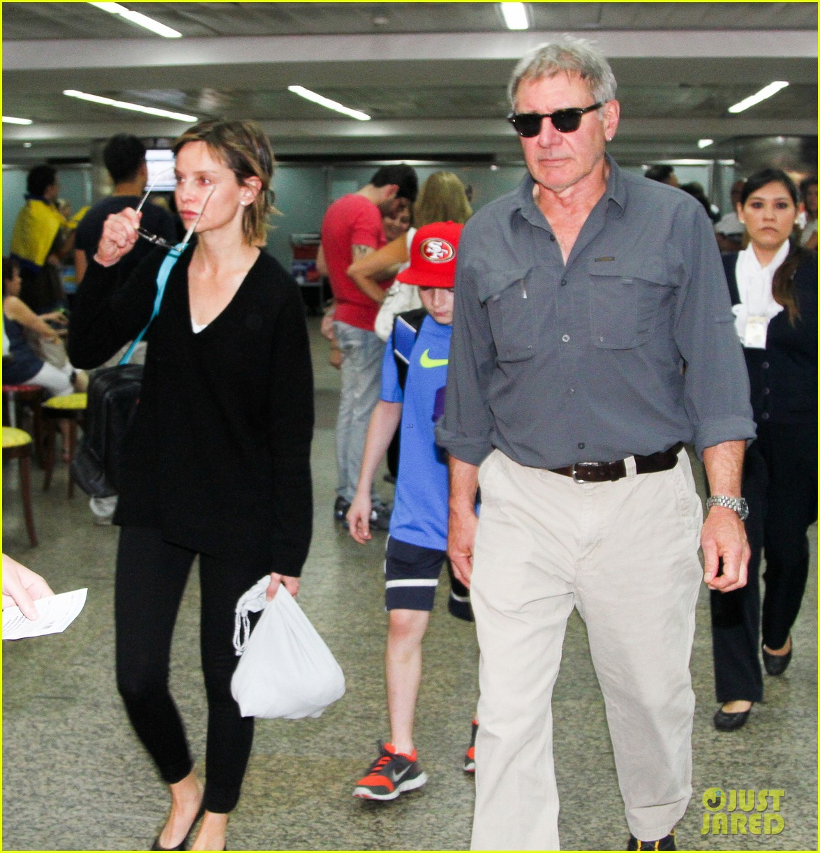 harrison ford family vacation after star wars 7 news 10