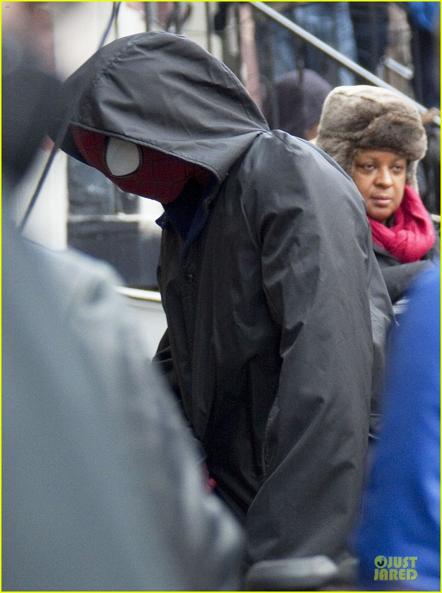 andrew garfield amazing spider man 2 suit first look 05
