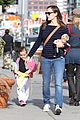 jennifer garner karate drop off with seraphina dolls 10