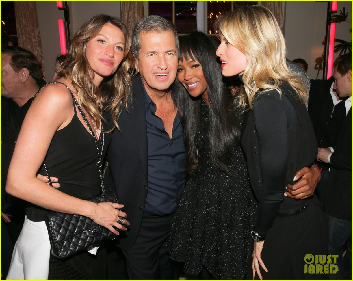 gisele bundchen tom brady mario testino exhibit party 09