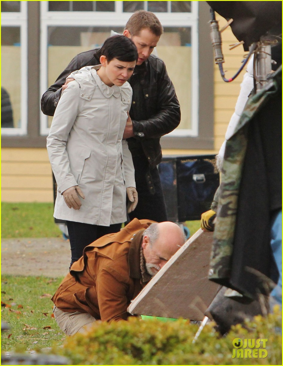 ginnifer goodwin jennifer morrison once upon a time filming 13
