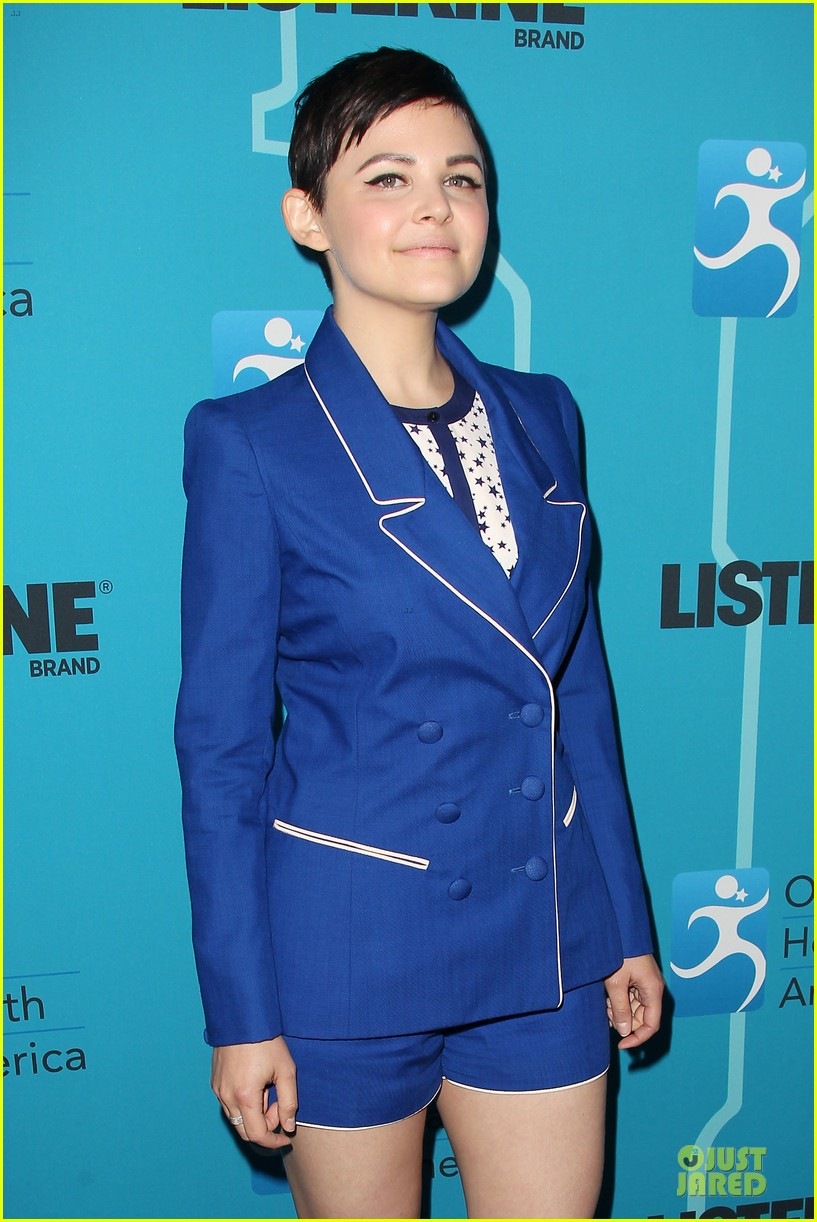 ginnifer goodwin listerine 21 day challenge unveiling 122805579