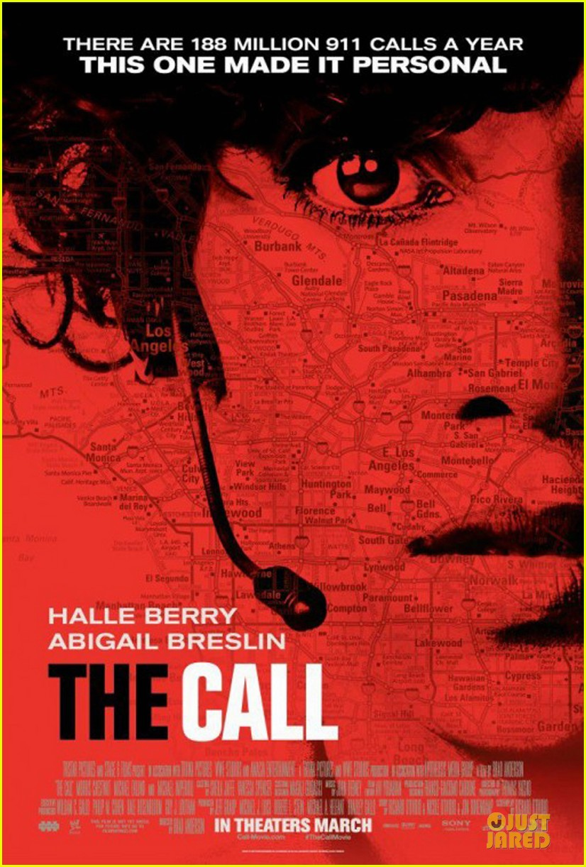 halle berry newly released the call poster 052804880