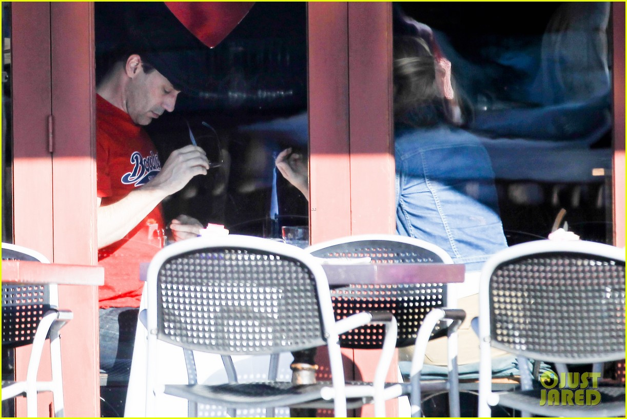 jon hamm jennifer westfeldt valentines day lunch date 182812658