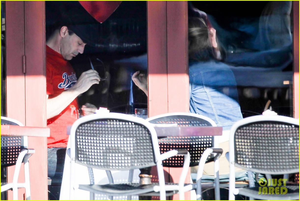 jon hamm jennifer westfeldt valentines day lunch date 18