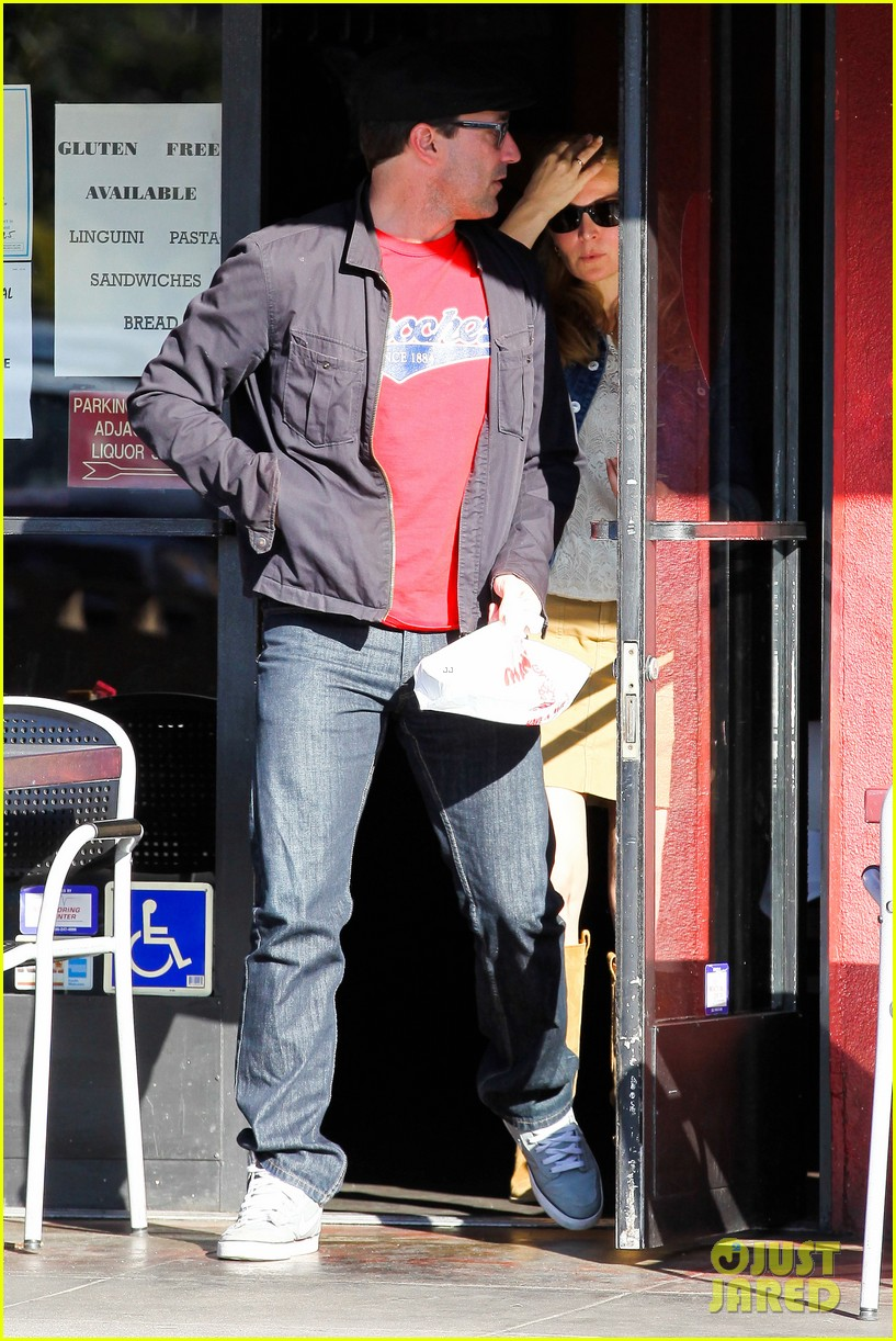 jon hamm jennifer westfeldt valentines day lunch date 192812659