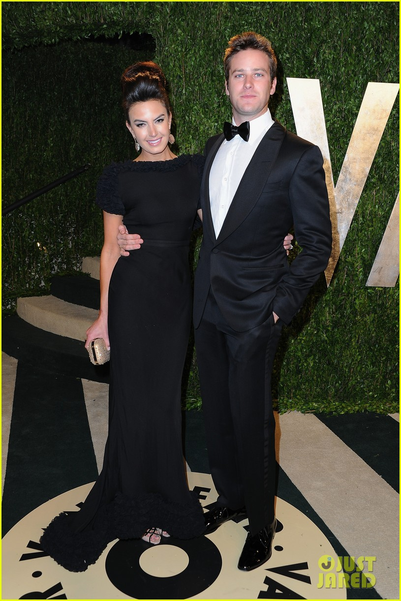 armie hammer elizabeth chambers vanity fair oscars party 2013 02