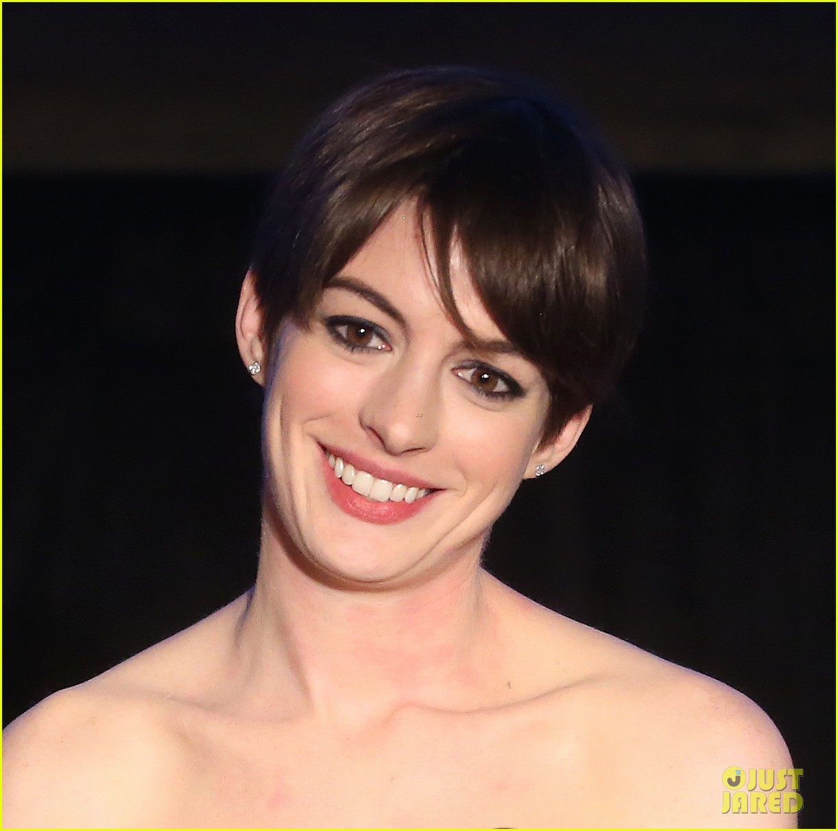 anne hathaway cinema audio society awards 2013 05