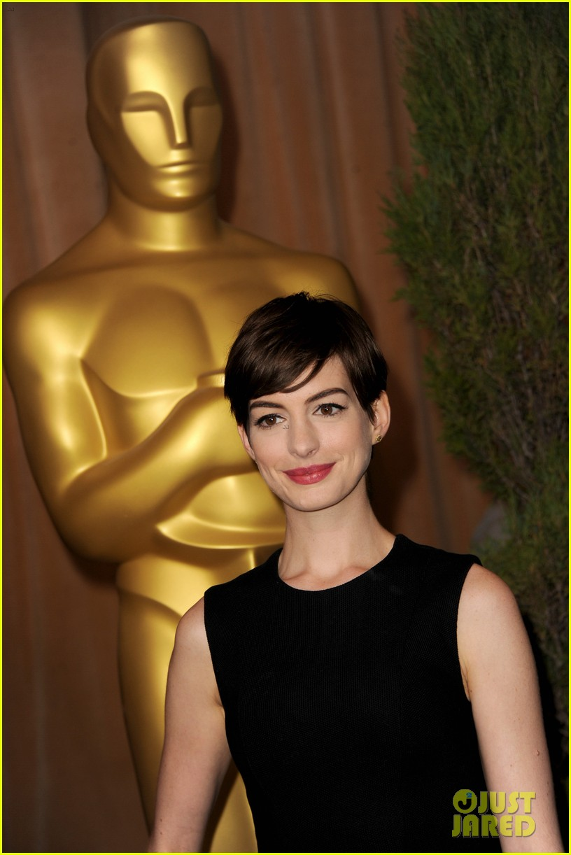 anne hathaway oscar nominees luncheon 2013 01