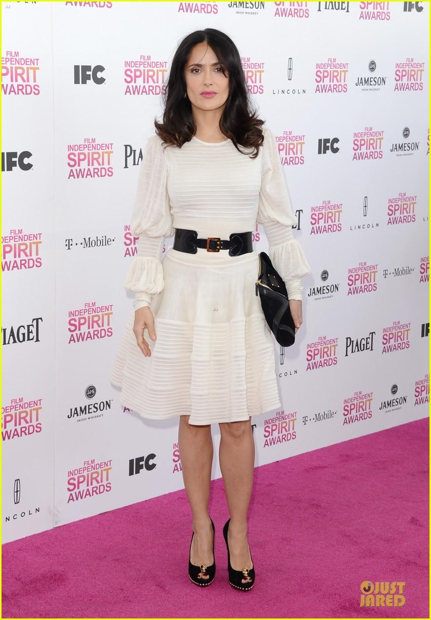 salma hayek francois henri pinault independent spirit awards 2013 01
