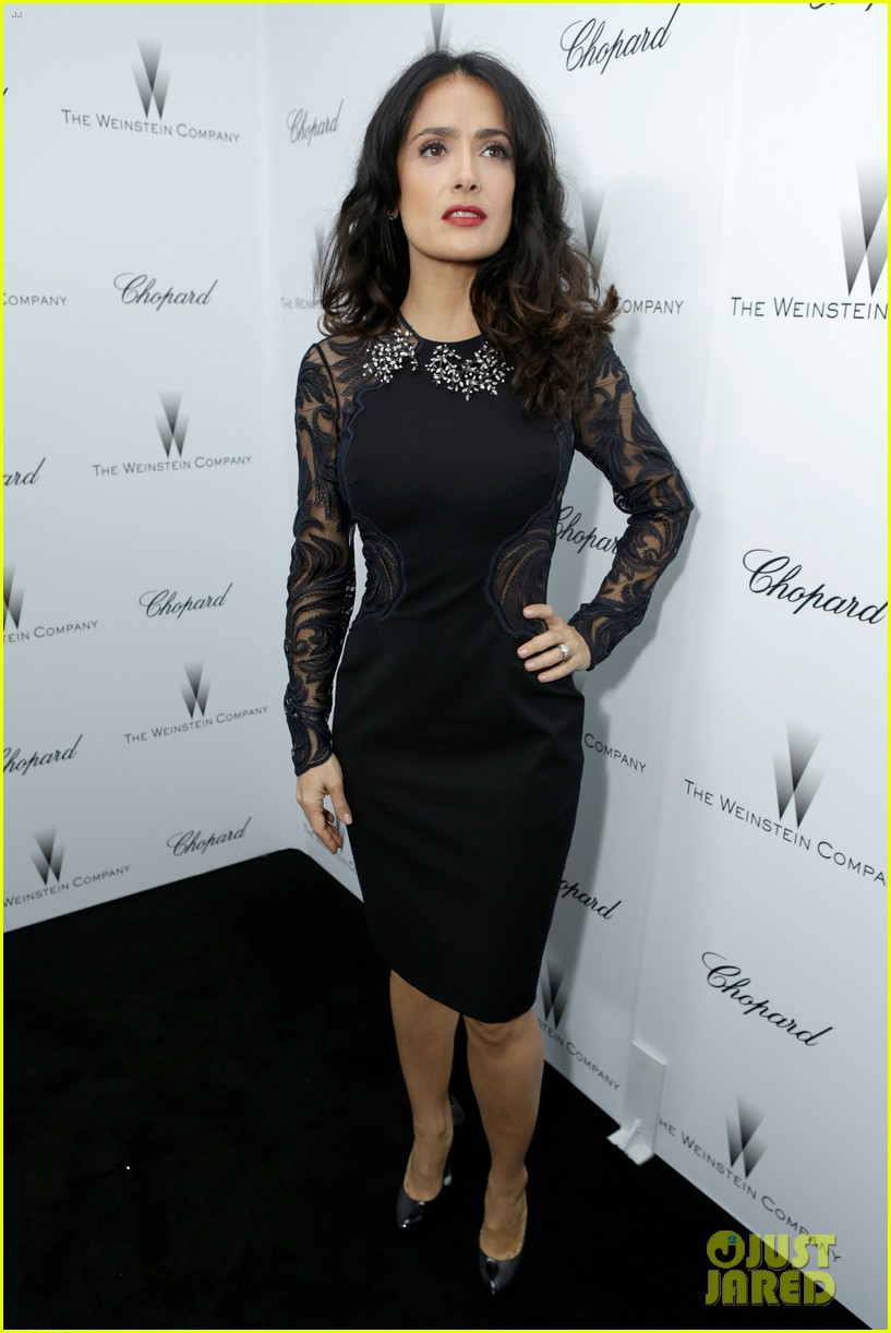 salma hayek weinstein pre oscars party 2013 16