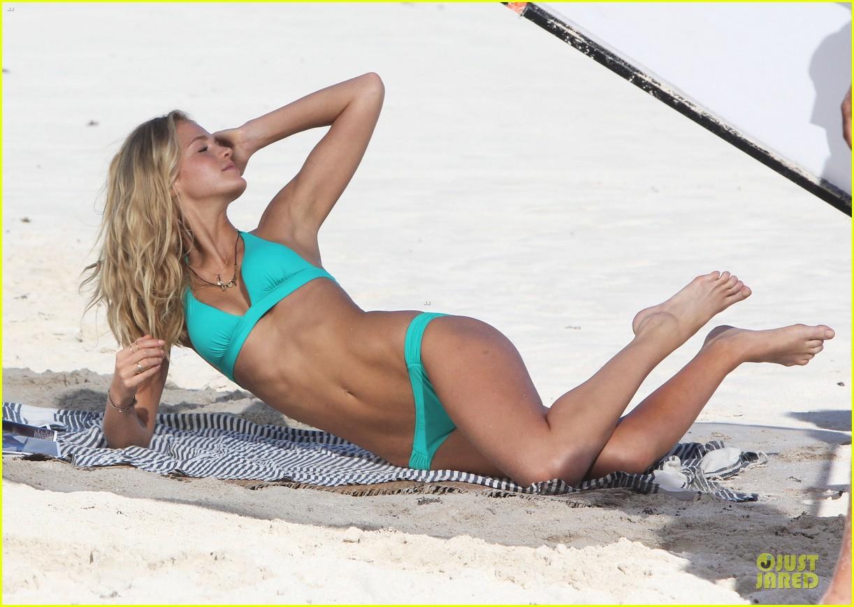 erin heatherton bikini shoot for victoria secret 29