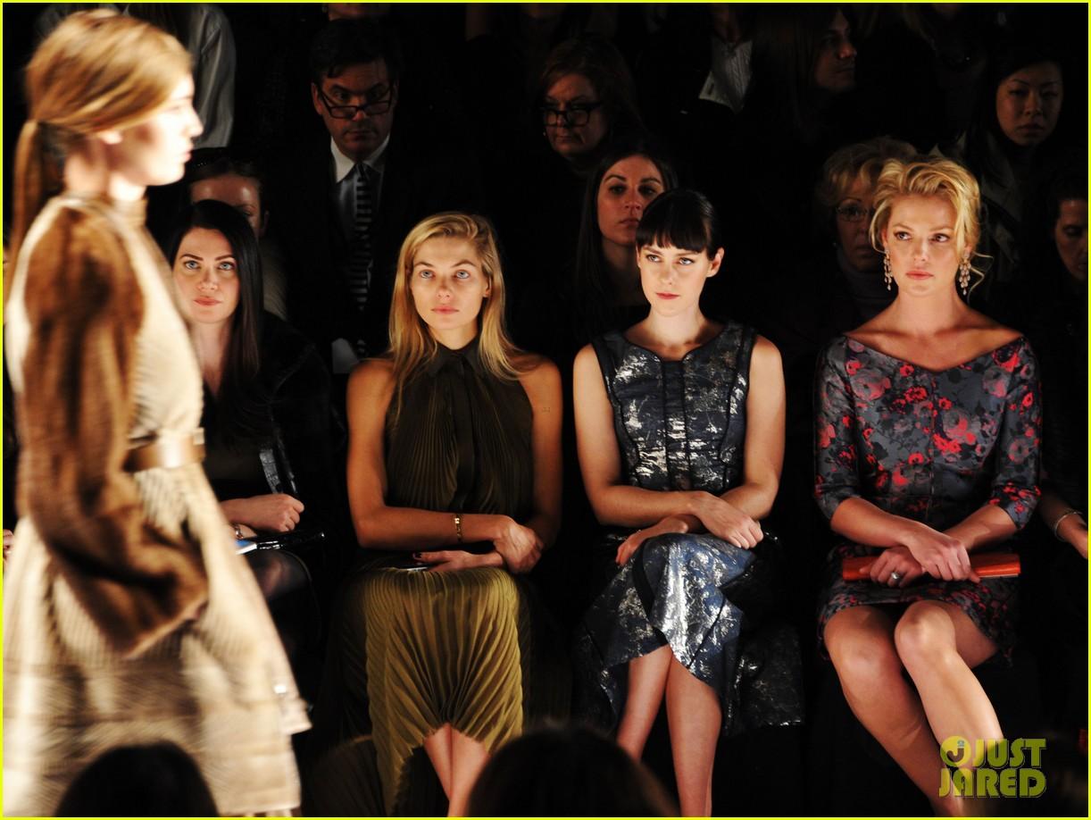 katherine heigl jena malone j mendel fashion show 06