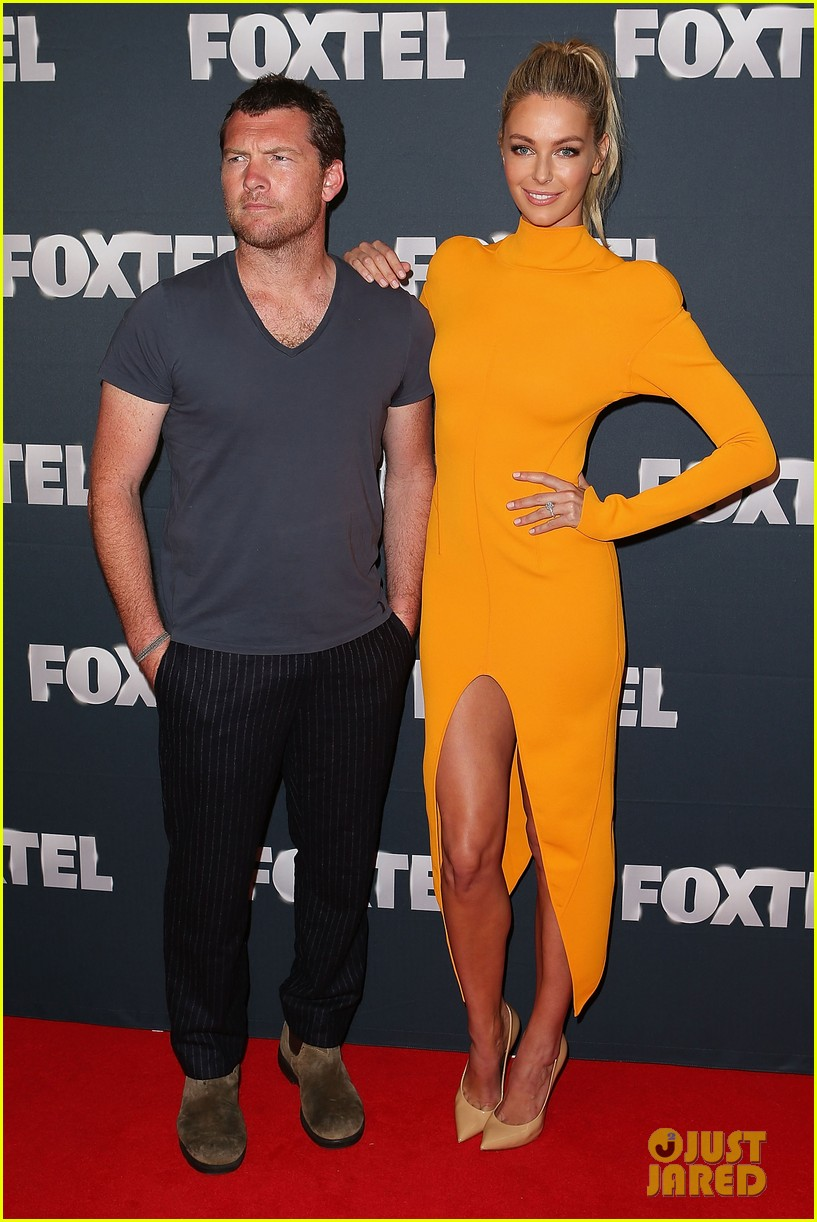 chris hemsworth sam worthington 2013 foxtel launch 02
