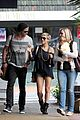 chris hemsworth elsa pataky sydney stroll with india 25