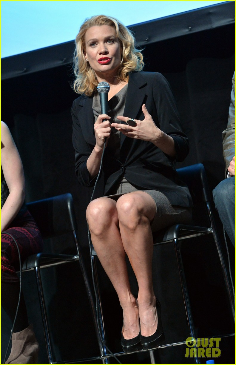 laurie holden atvfest with emily kinney 01