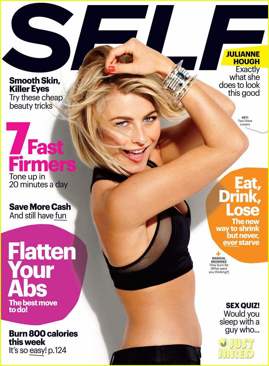 julianne hough covers self march 2013 03