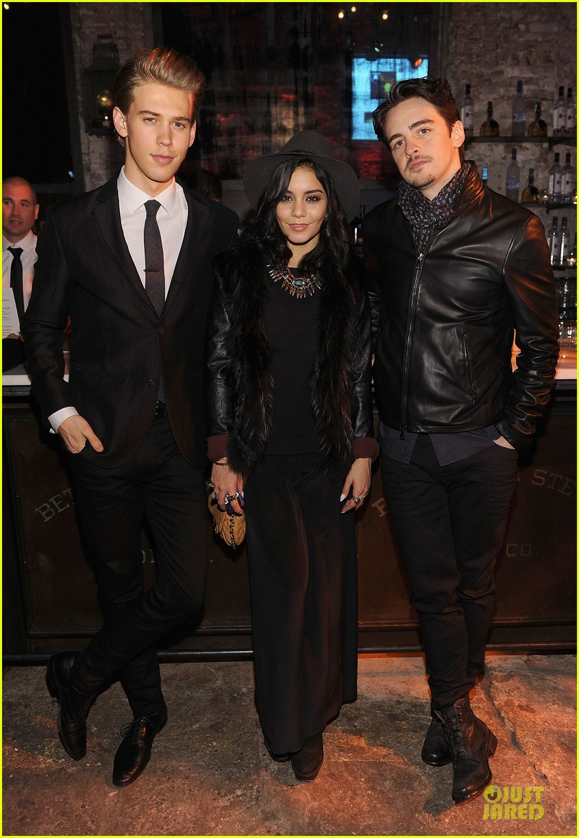 vanessa hudgens austin butler john varvatos site re launch 08