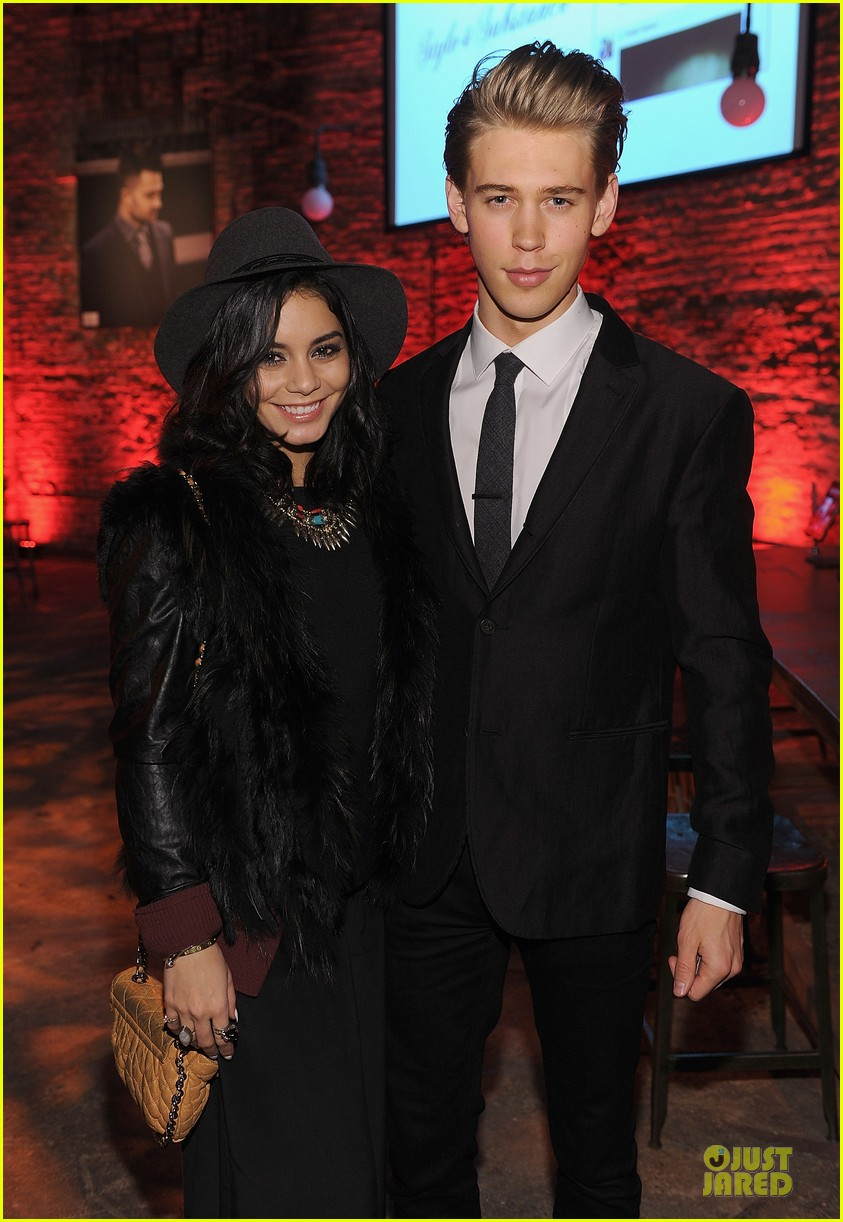 vanessa hudgens austin butler john varvatos site re launch 09