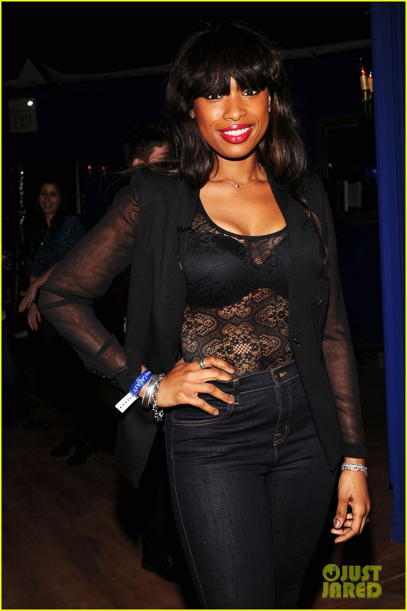 jennifer hudson super bowl party with jamie foxx 03