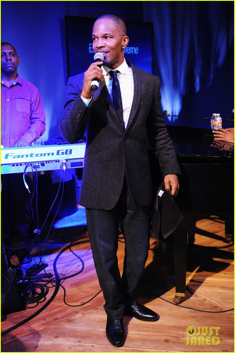 jennifer hudson super bowl party with jamie foxx 05