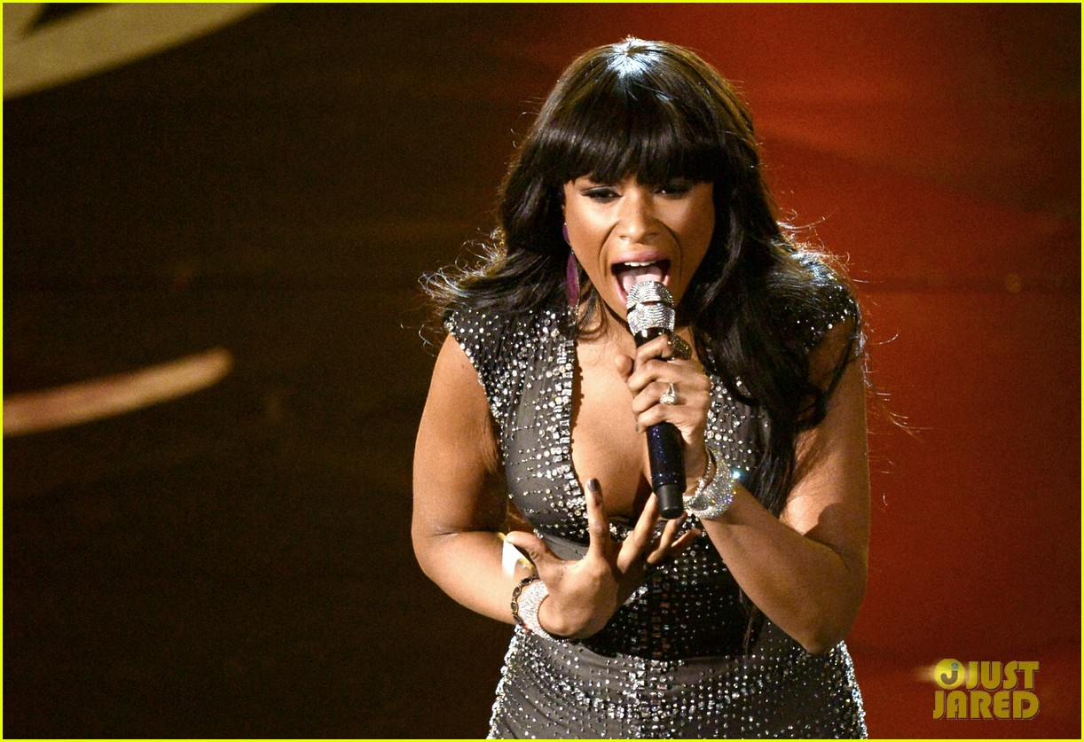 jennifer hudson and i am telling you at oscars 2013 video 04