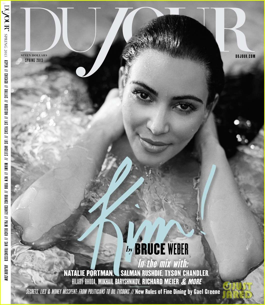 kim kardashian pregnant bikini photo shoot for dujour 01