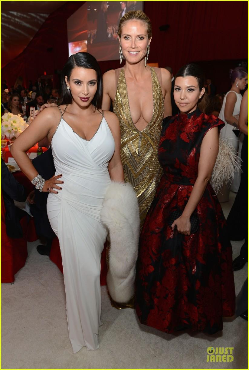 kim kardashian elton john oscars party 2013 01